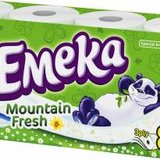 Hartie igienica Emeka Elastic Fibers - Mountain Fresh 8 role
